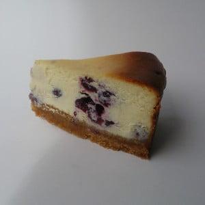Blauwebessencheesecake